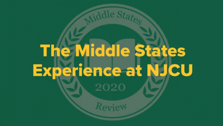 The Middles States Experience at NJCU.