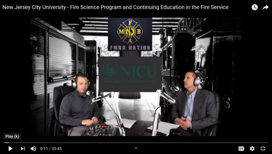 Fire Science video interview