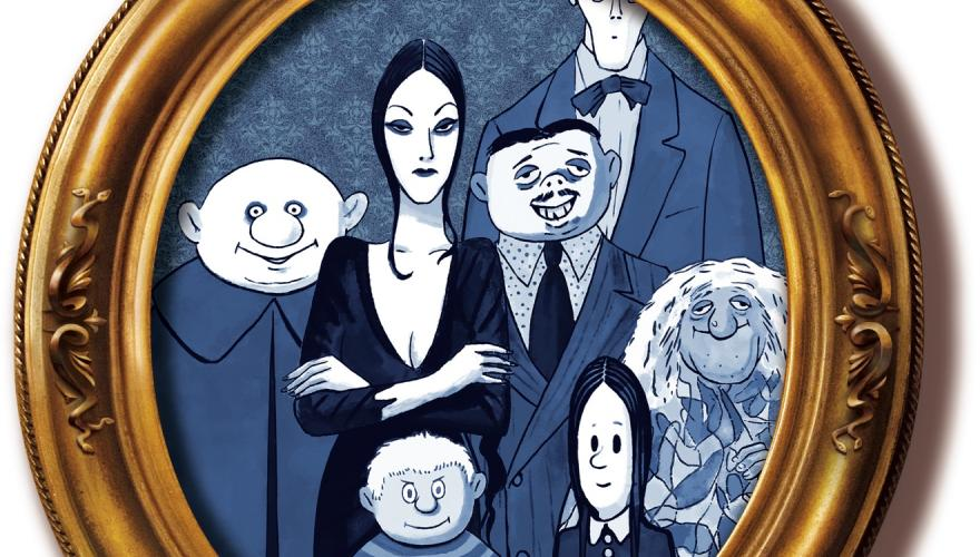 Addams Family Musical Rehearsal