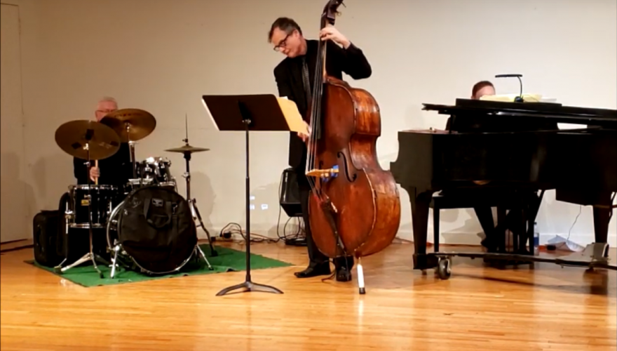 Joel Zelnick Trio Performing