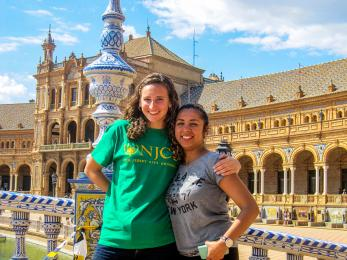 students in Spain study abroad
