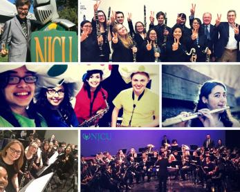 woodwind program collage