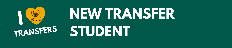I love transfer students banner